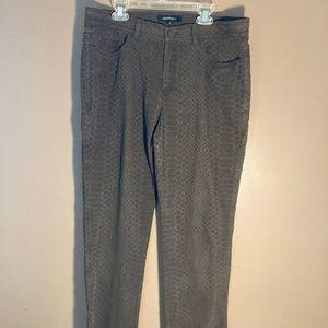Lafayette 148 New York croc brown pants